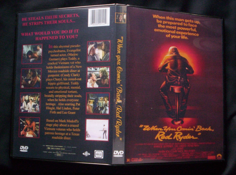 When You Comin Back Red Ryder DVD 1979  Marjoe Gortner