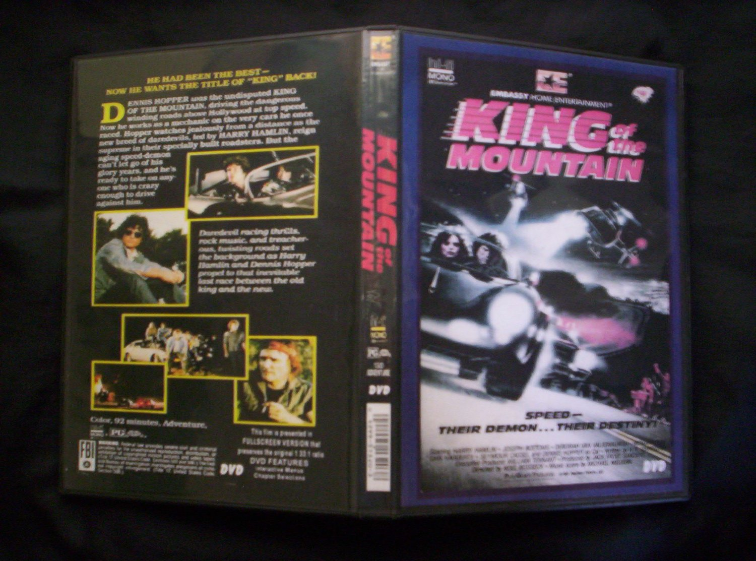King of the Mountain DVD 1981