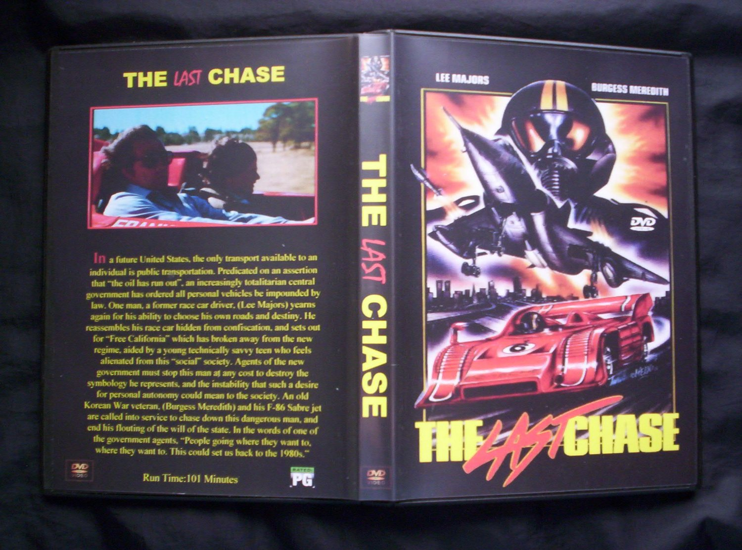 The Last Chase DVD 1981