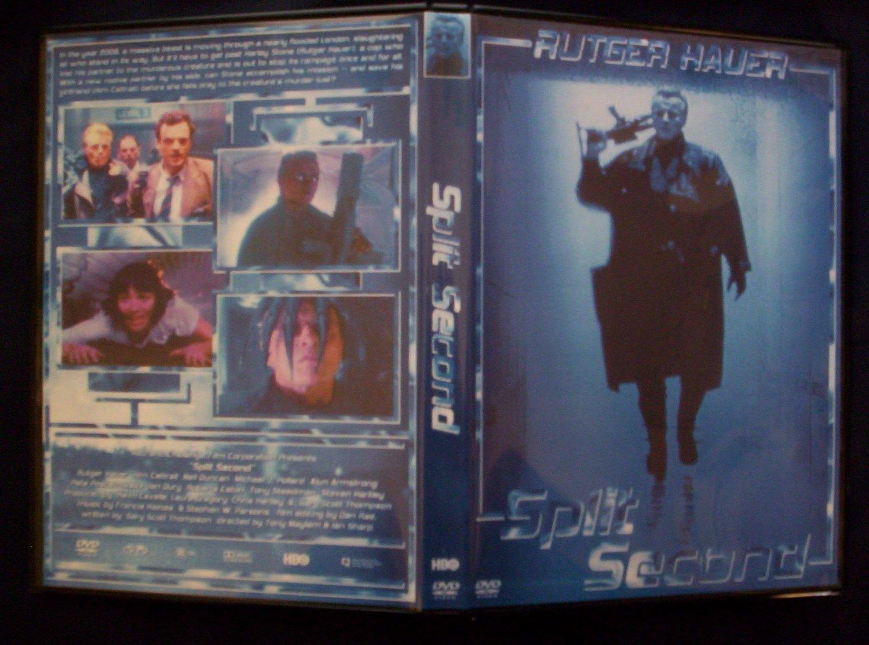 SPLIT SECOND DVD 1992