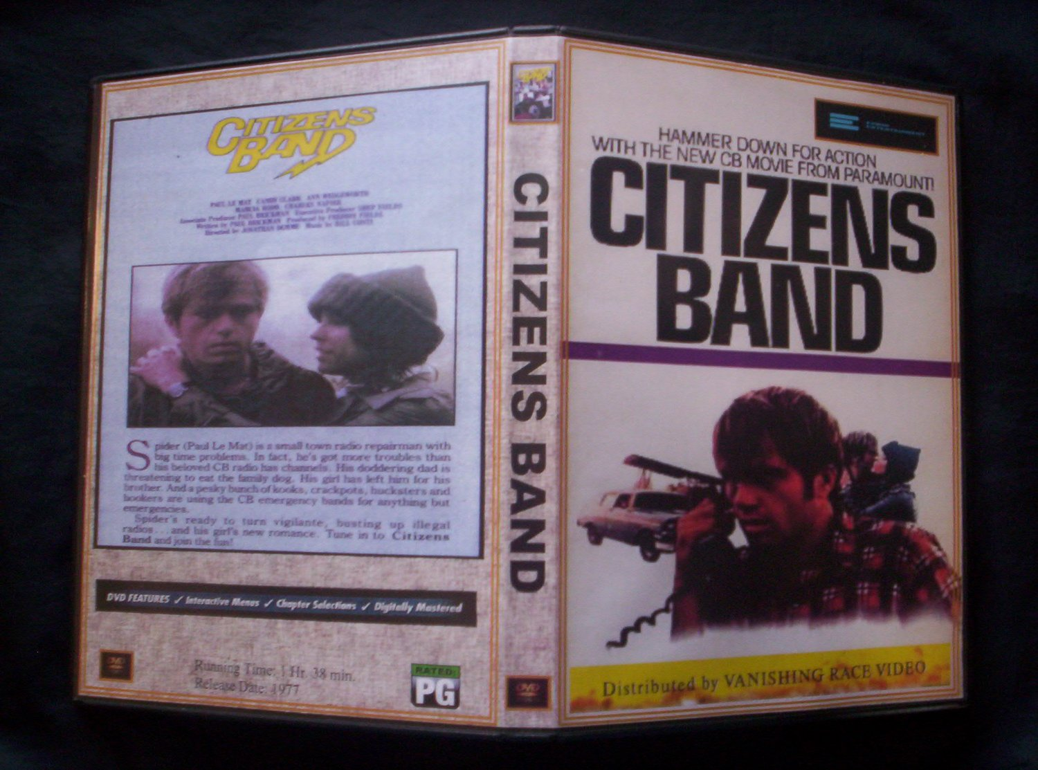 Citizens Band DVD 1977  Paul Le Mat