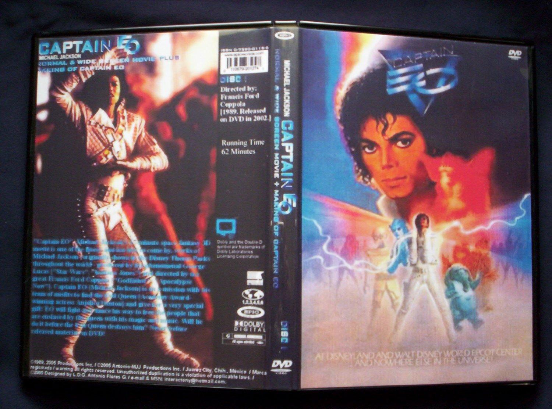 CAPTAIN EO DVD 1986
