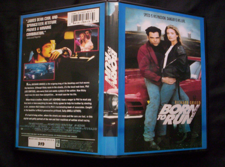 BORN TO RUN DVD 1993