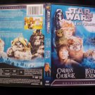 Star Wars Ewok Adventures DVD Caravan Of Courage/ The Battle For Endor