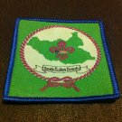 South Sudan Scouts Association Official badgein English