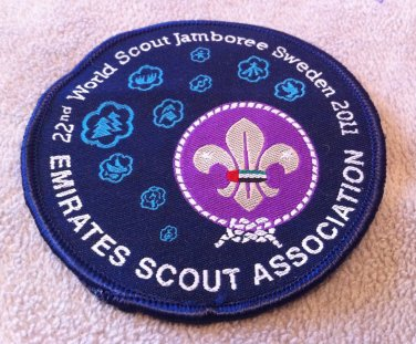 22nd World Scout Jamboree in Sweden 2011 Emirates Scout