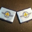 Air Scouts of Egypt Official pair of Stripes with Wings & Fleur de Lis in Arabic