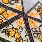 Scouts & Guides Wadi El Nil NEW Cubs & Brownies Merit badges set (five badges)