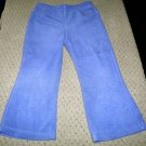 Girls Purple Flared Fleece Pants 4T