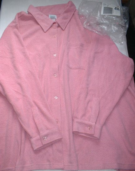Plus Size Lane Bryant Woman Within Pink Tunic NEW 5X