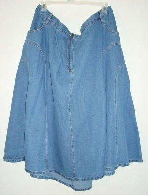 NWT Roamans Lane Bryant Denim Skirt 5X 38W