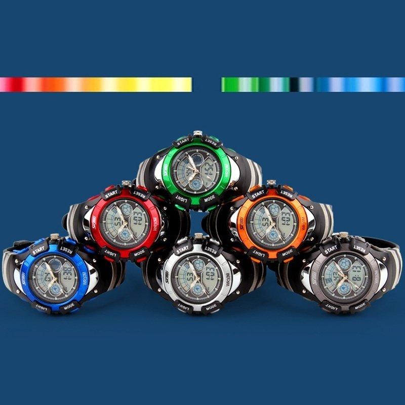 Jelly LED Watch Super Dive Waterproof Outside Sport Random Color