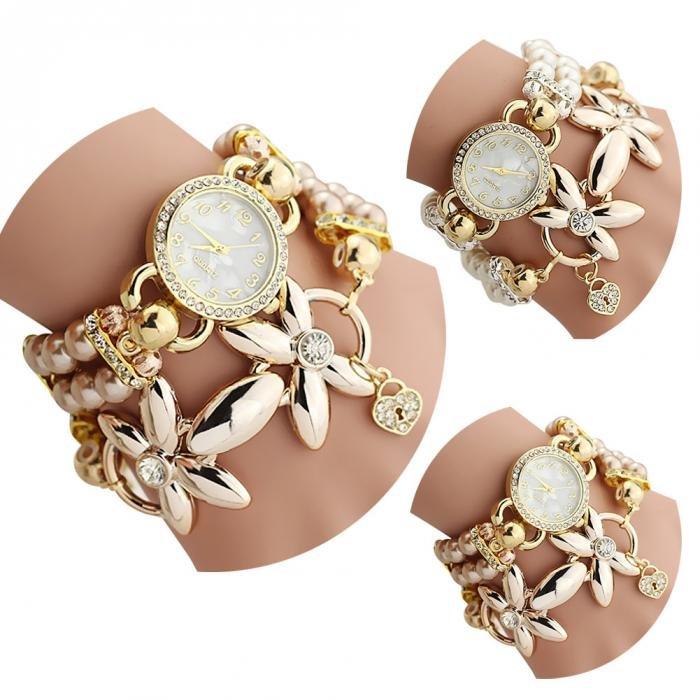 2016 New Lewerly Women Sweet Bracelet Watch--Best  Gift