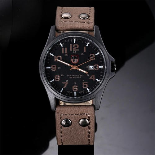 Fashion Lovely And High Quality Trendy Watch Brown