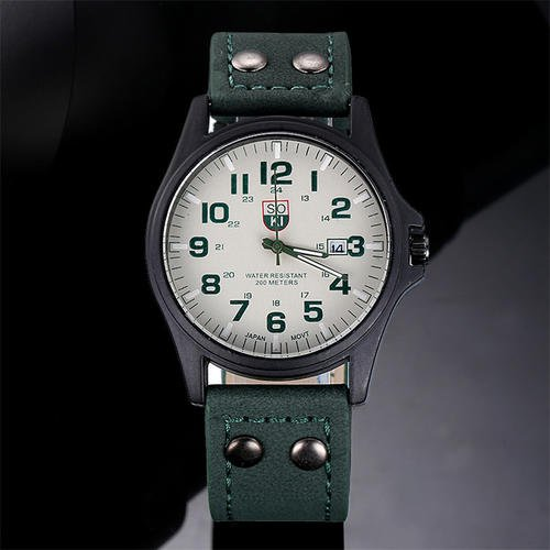 Fashion Lovely And High Quality Trendy Watch Green