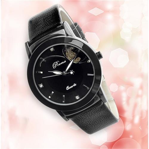Fashion Luxury  Lady Wristwatch  Black