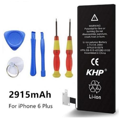 Phone Li-ion Internal Batteries For IPhone 6 Plus 2915mAh With Repair Tools