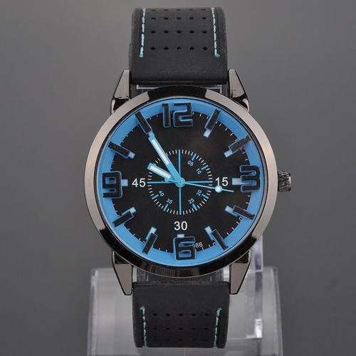 NEW FASHION WOMEN MEN WATCH  BLUE