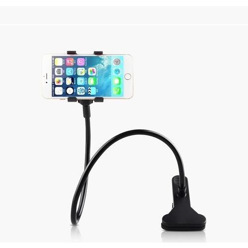 Phone holder bracket lazy lazy bedside phone holder creative Phone Black