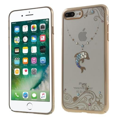 5.5 inch Cover for iPhone 7 Plus Plating Plastic Shell