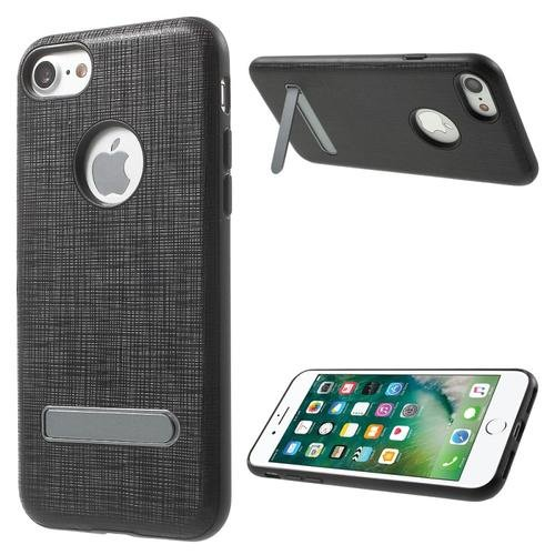 4.7 inch Mobile Phone Bag PU Leather Skin TPU Edge Kickstand Hard for iPhone 7
