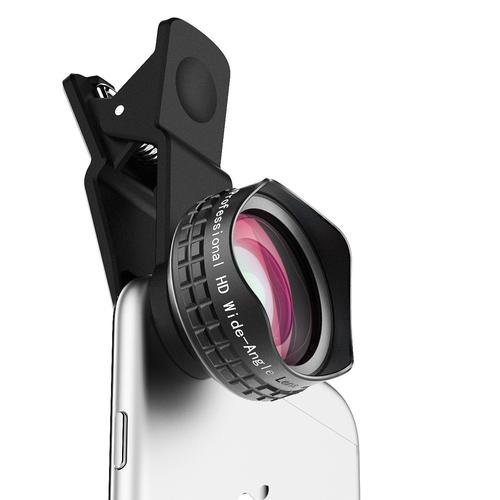 Optic Pro Lens 18MM Wide Angle Cell Phone Camera Lens Kit for iPhone 110 degree for 4.7 inch
