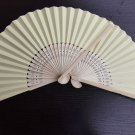 20Pcs/Lot 21cm Yellow Wedding Paper Fans Paper Fans for Party Decorations Personalized Paper Fans