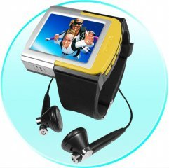 Sporty MP4 Watch Player 2GB - 1.8 Inch TFT Screen ( m43 )