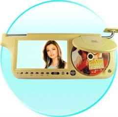7inch Sun Visor DVD with Touch Screen with TV and FM(Right)  ( SVD1 )