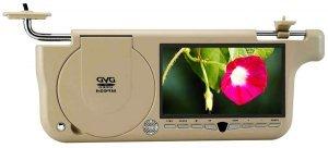 7inch Sun Visor DVD Monitor, USB /SD /MMC /GAME Player(Left)  ( SVD2 )