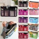 Multipurpose Women Insert Handbag Organiser Purse Large liner Bag Tidy Travel CA