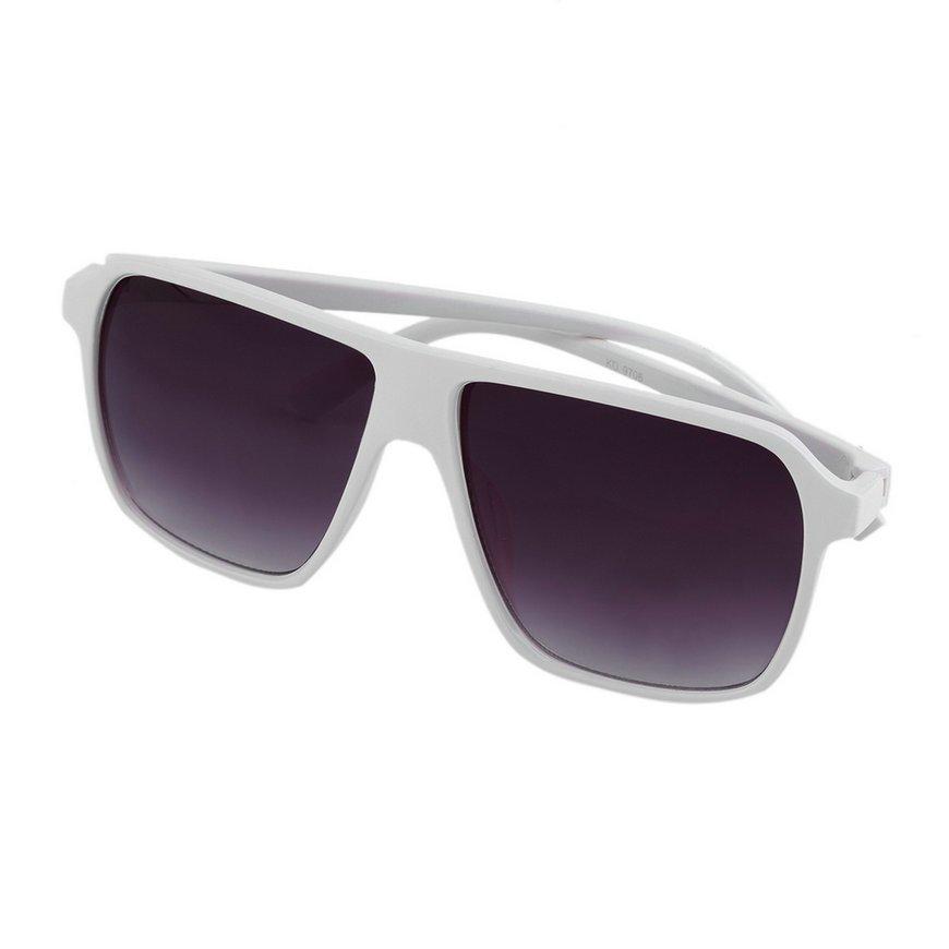 Fashion Unisex Men Women Square Frame Sunglasses Eyewear Oversized New FE