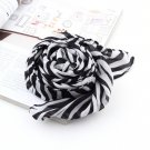 Fashion Trendy Long Zebra Printed Chiffon Scarf Women Girls shawl Soft Smooth
