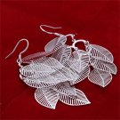 New Hot Jewelry Women's Elegant Ear Hook Hollow Leaves Dangle Earrings FE