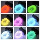 EL Wire Neon Light 3M for Dance Party Car Decor+Controller FE