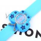 Fashion Animal Slap Snap On Silicone Wrist Watch Boys Girls Children Kids GP