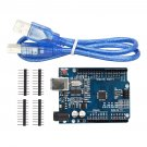 NEW ATmega328P CH340G UNO R3 Board & USB Cable for Arduino DIY NEWS CAF