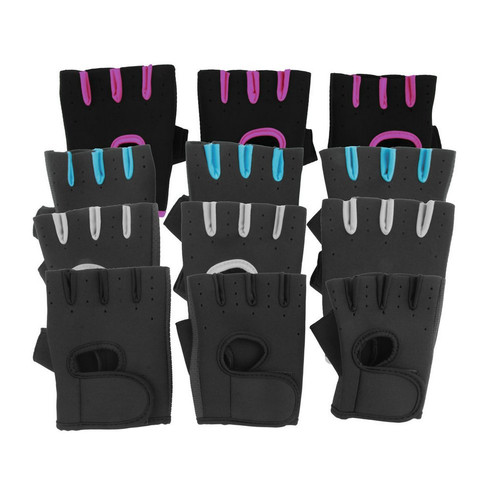 Sport Fitness Cycling Gym Half Finger Weightlifting Gloves Exercise Training FE