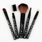 5 PCS Set Cosmetic Makeup Brush Foundation Comb New FE