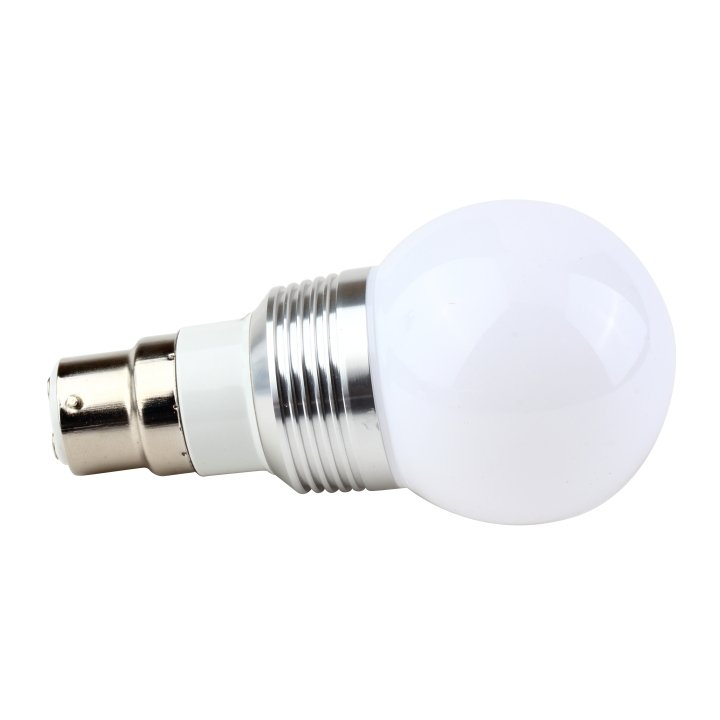 Fashion B22 LED RGB 3W 16 Colors Change Lamp Light Bulb+24 key  Controller LK