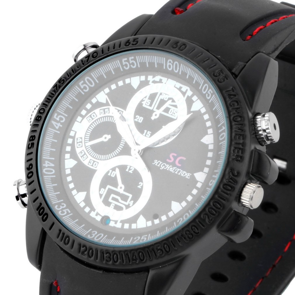 HD 1280*960 Spy Wrist 8GB DV Watch Video Hidden Camera DVR Waterproof Camcorder