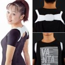 Adjustable Therapy Back Support Brace Belt Band Posture Shoulder Corrector GP