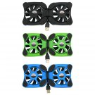 """USB Port Mini Octopus Notebook Fan Cooler Cooling Pad For 7""""-15"""" Laptop FE"""
