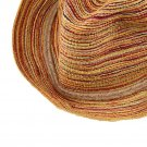Women's Beach Hat Provence floppy Elegant Bohemia Straw Sun Cap Multi Color FE
