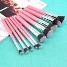 10pcs Professional Cosmetic Makeup Brushes Set Foundation Eyeshadow Brush FE