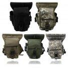Outdoor Tactical Military Drop Leg Bag Panel Utility Waist Belt Pouch Bag #A