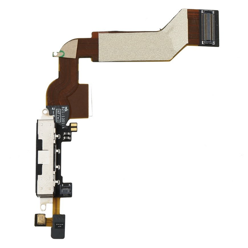Charger Charging Dock Port Connector Flex Data Cable Replacement for Iphone 4S