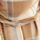 Lady Women Winter Scarf Cashmere Long Scarf Wrap Shawl Plaid Knit Scarf FE