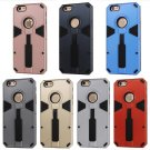 New Cool Design Hard PC+TPU Stand Holder Case Cover For iPhone 6/6S 4.7'' FE