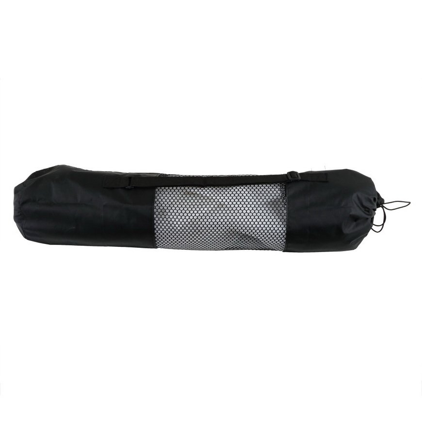 Portable Yoga Pilates Mat Nylon Bag Carrier Mesh Case Adjustable Strap FE